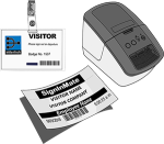 Visitor ID Badges & Printer